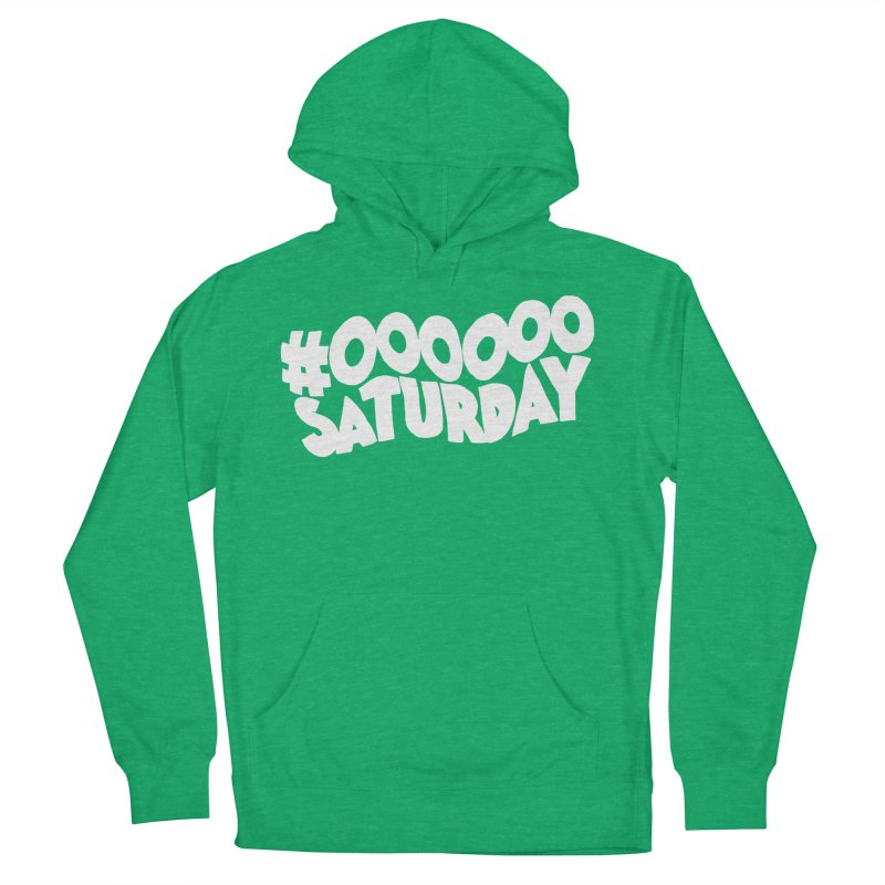 #000000 Saturday Women's French Terry Pullover Hoody by Hello Siyi
