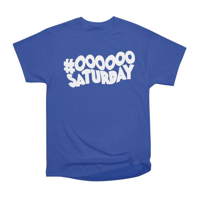 #000000 Saturday Men's Heavyweight T-Shirt by Hello Siyi