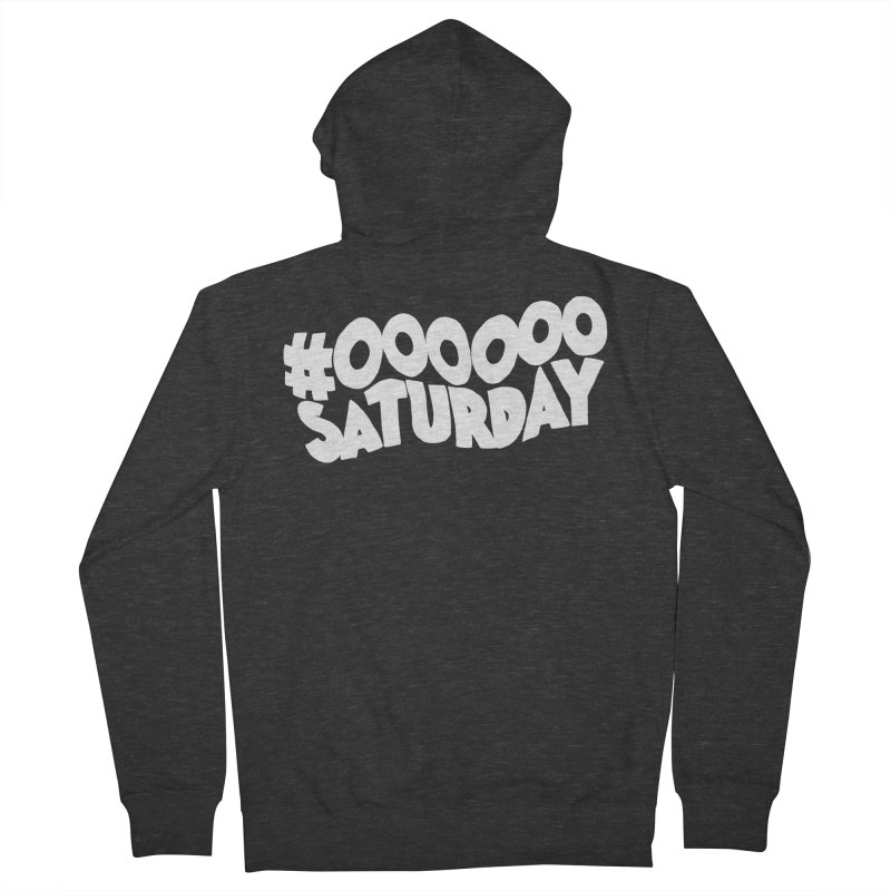 #000000 Saturday Women's French Terry Zip-Up Hoody by Hello Siyi