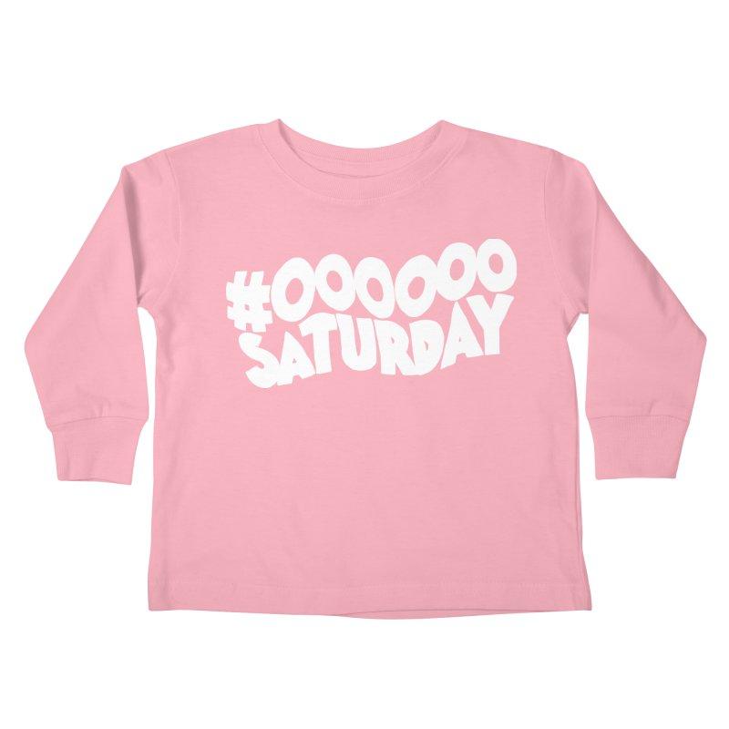 #000000 Saturday Kids Toddler Longsleeve T-Shirt by Hello Siyi