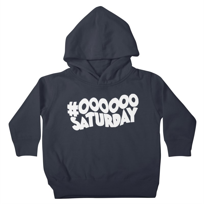 #000000 Saturday Kids Toddler Pullover Hoody by Hello Siyi