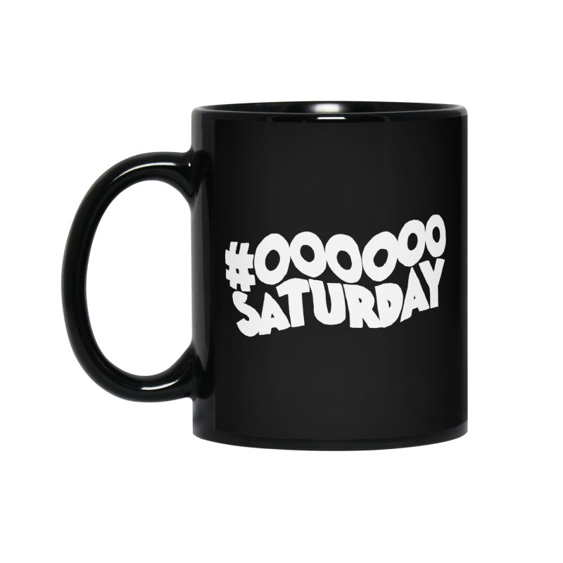 #000000 Saturday Accessories Standard Mug by Hello Siyi