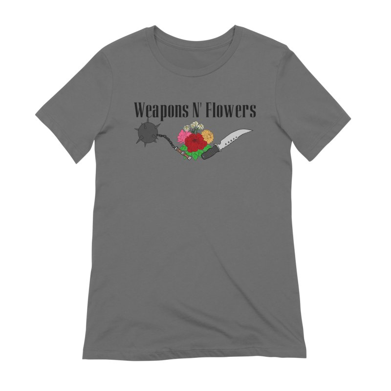 Weapons N' Flowers Women's Extra Soft T-Shirt by Hello Siyi