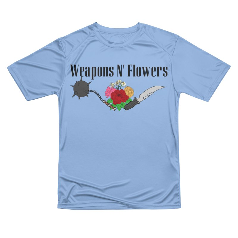 Weapons N' Flowers Women's Performance Unisex T-Shirt by Hello Siyi