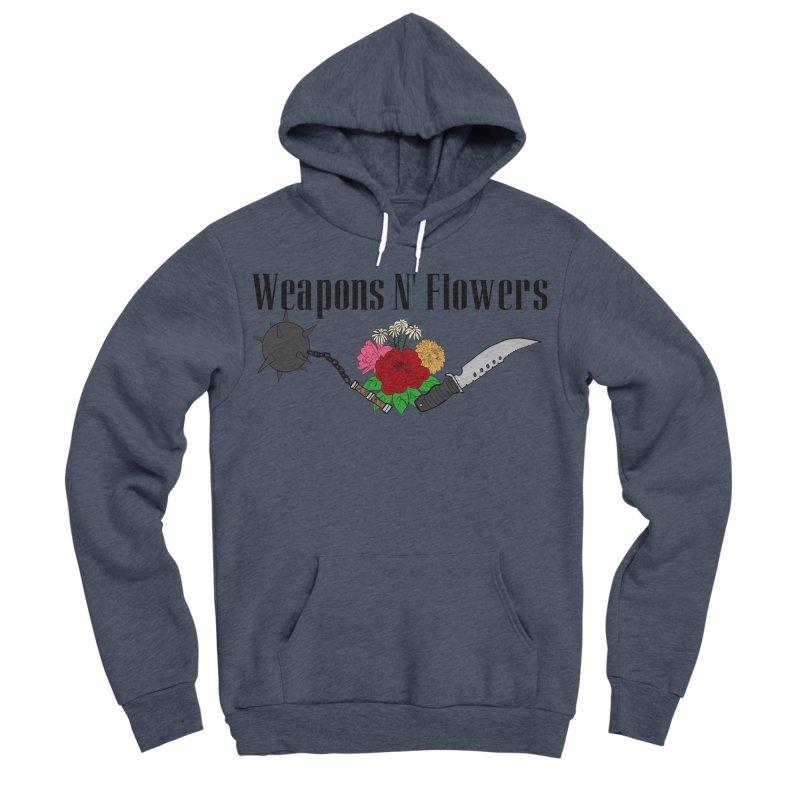 Weapons N' Flowers Women's Sponge Fleece Pullover Hoody by Hello Siyi