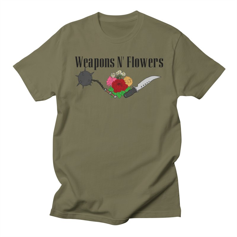 Weapons N' Flowers Women's Regular Unisex T-Shirt by Hello Siyi