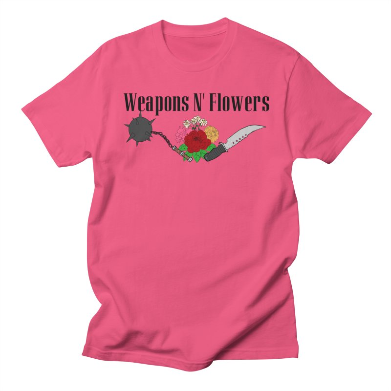 Weapons N' Flowers Men's Regular T-Shirt by Hello Siyi