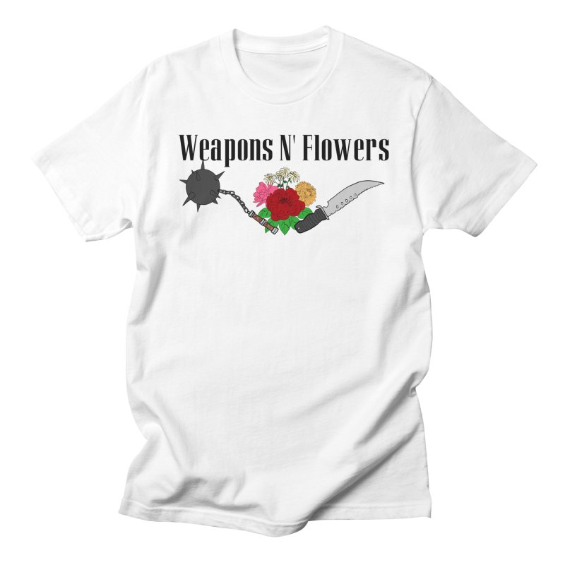 Weapons N' Flowers Women's Regular Unisex T-Shirt by Hello Siyi