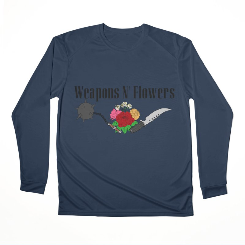 Weapons N' Flowers Men's Performance Longsleeve T-Shirt by Hello Siyi