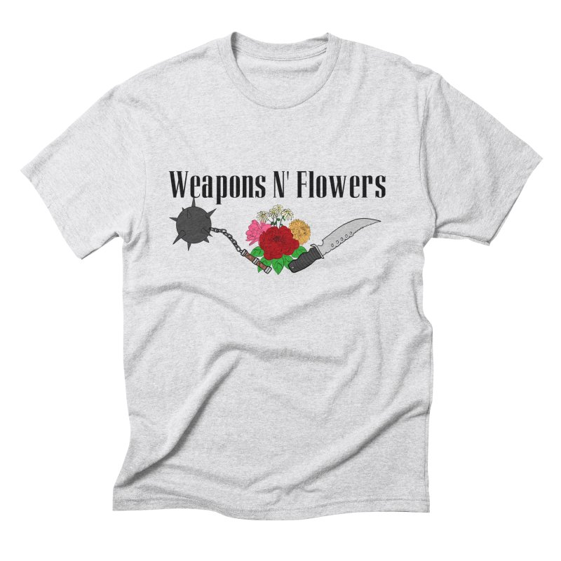 Weapons N' Flowers Men's Triblend T-Shirt by Hello Siyi