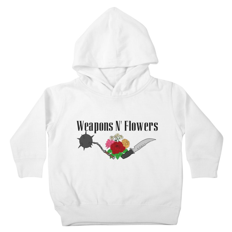 Weapons N' Flowers Kids Toddler Pullover Hoody by Hello Siyi