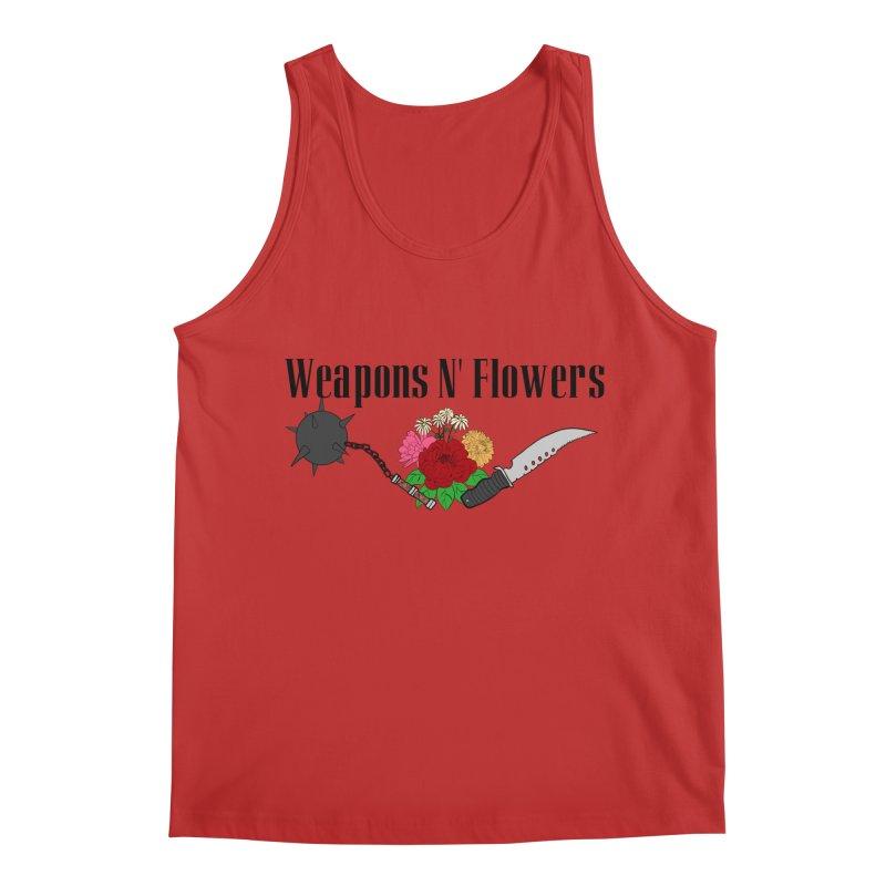 Weapons N' Flowers Men's Regular Tank by Hello Siyi