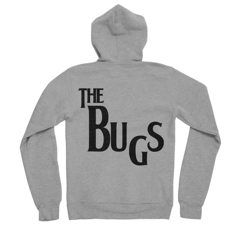 The Bugs Men's Sponge Fleece Zip-Up Hoody by Hello Siyi