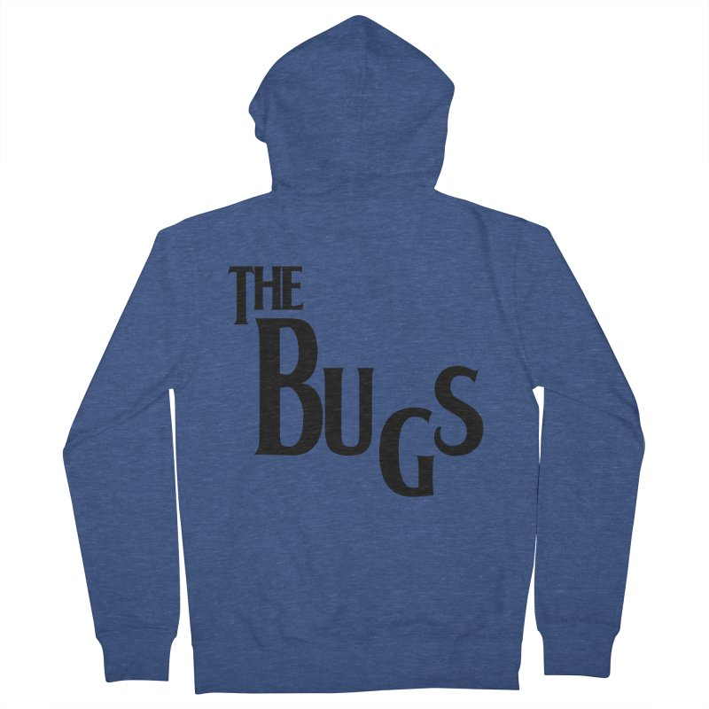 The Bugs Men's French Terry Zip-Up Hoody by Hello Siyi