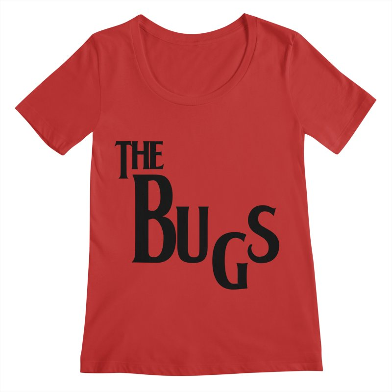 The Bugs Women's Regular Scoop Neck by Hello Siyi