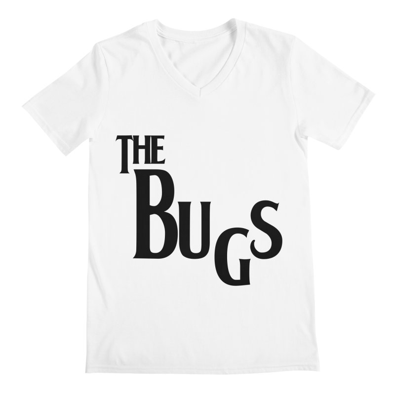 The Bugs Men's Regular V-Neck by Hello Siyi