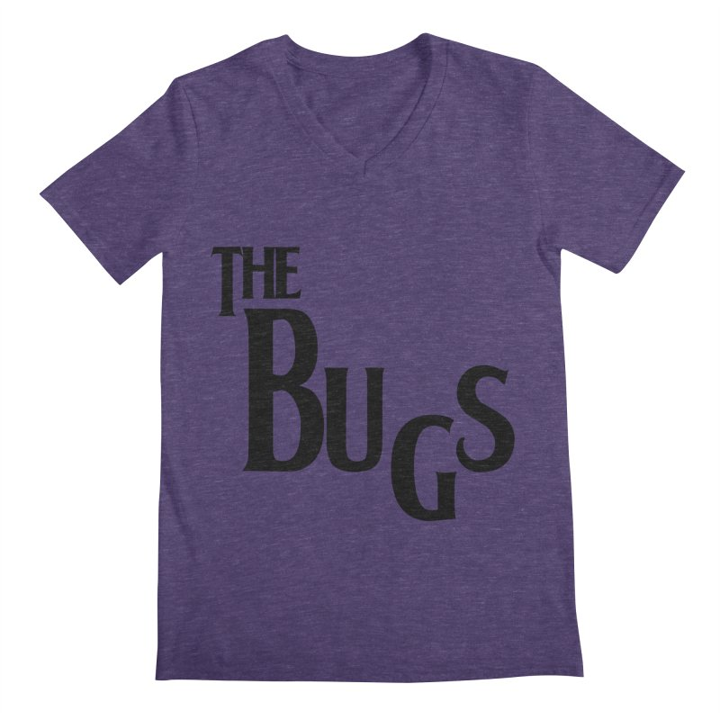 The Bugs Men's Regular V-Neck by Hello Siyi