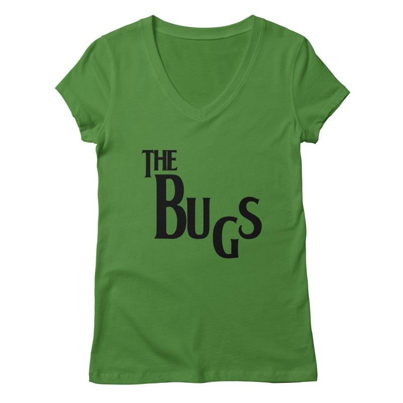 The Bugs Women's Regular V-Neck by Hello Siyi