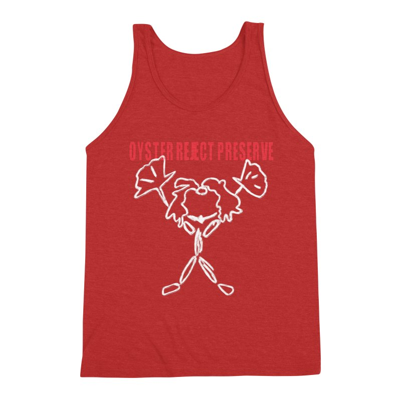 Oyster Reject Preserve Men's Triblend Tank by Hello Siyi