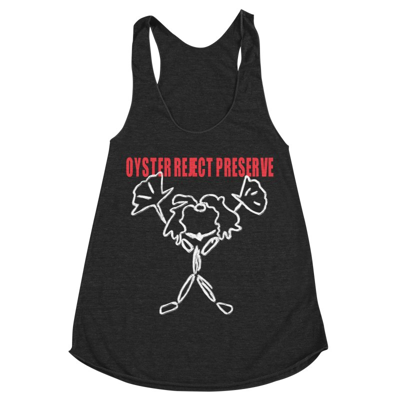 Oyster Reject Preserve Women's Racerback Triblend Tank by Hello Siyi