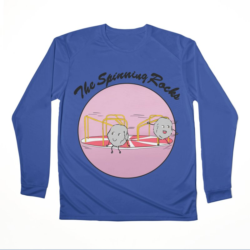 The Spinning Rocks Women's Performance Unisex Longsleeve T-Shirt by Hello Siyi