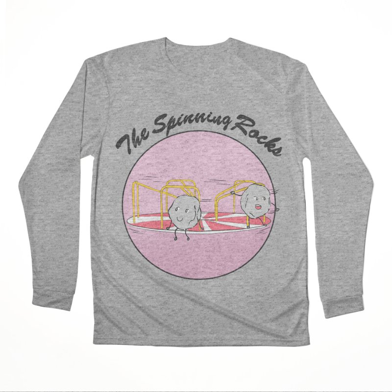 The Spinning Rocks Men's Performance Longsleeve T-Shirt by Hello Siyi