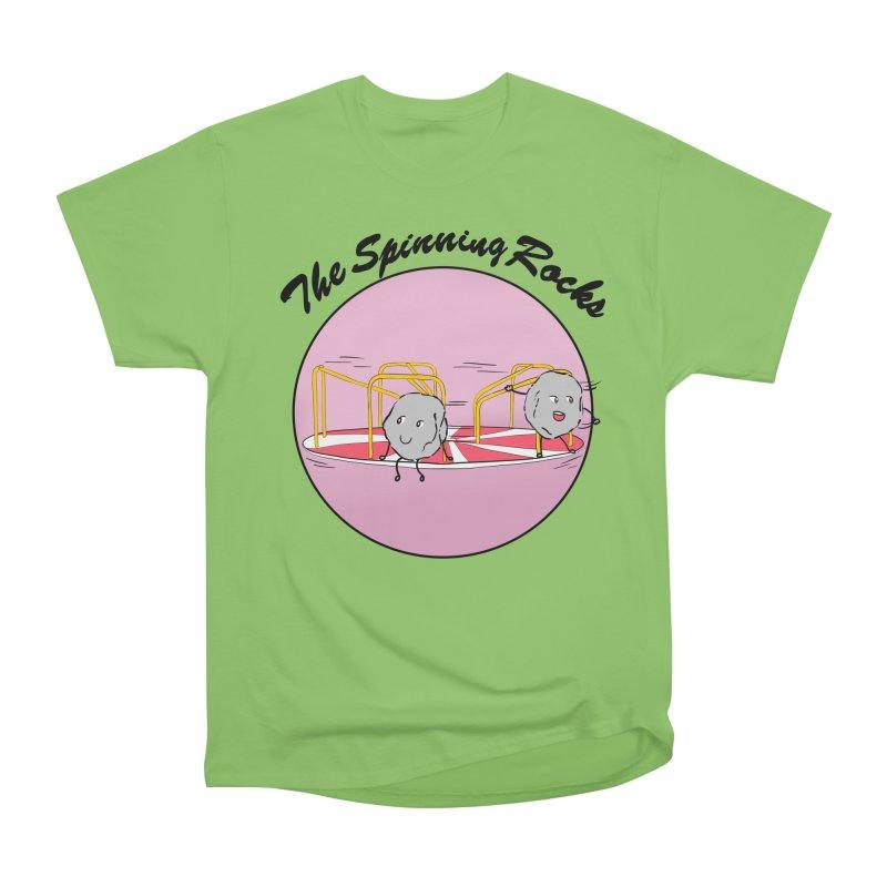 The Spinning Rocks Women's Heavyweight Unisex T-Shirt by Hello Siyi
