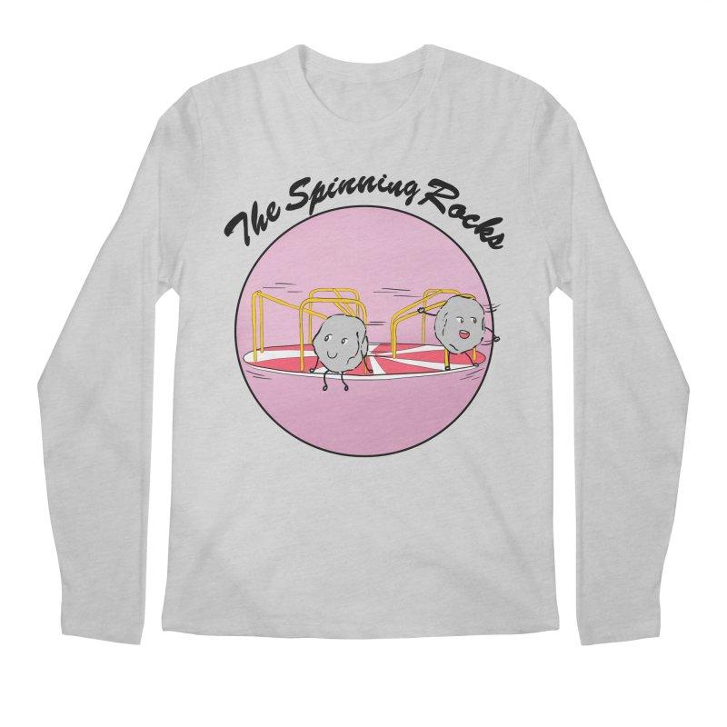 The Spinning Rocks Men's Regular Longsleeve T-Shirt by Hello Siyi
