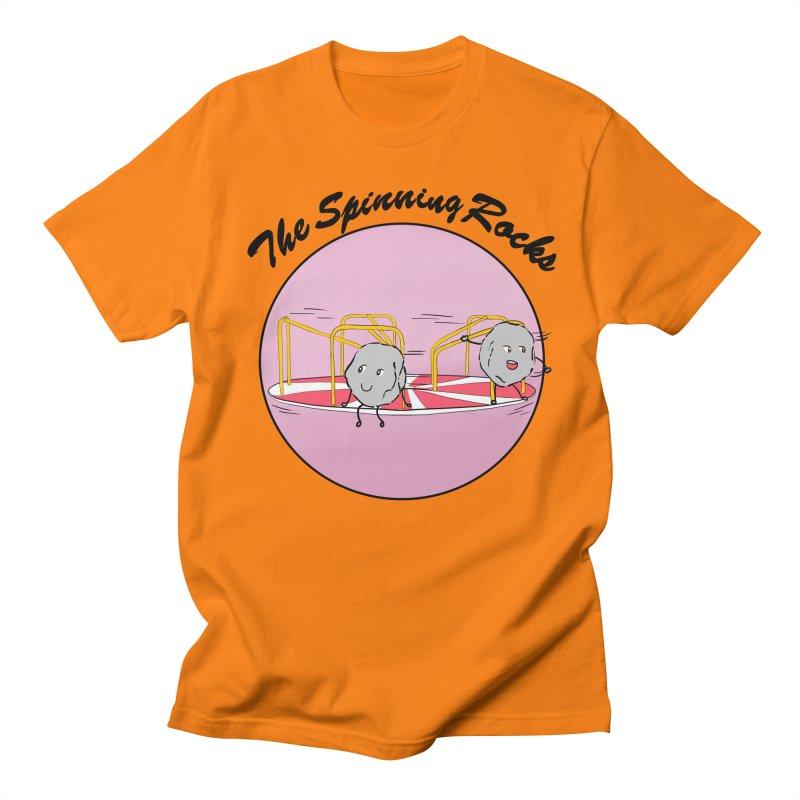 The Spinning Rocks Women's Regular Unisex T-Shirt by Hello Siyi