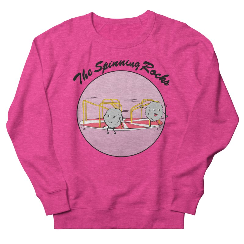 The Spinning Rocks Women's French Terry Sweatshirt by Hello Siyi
