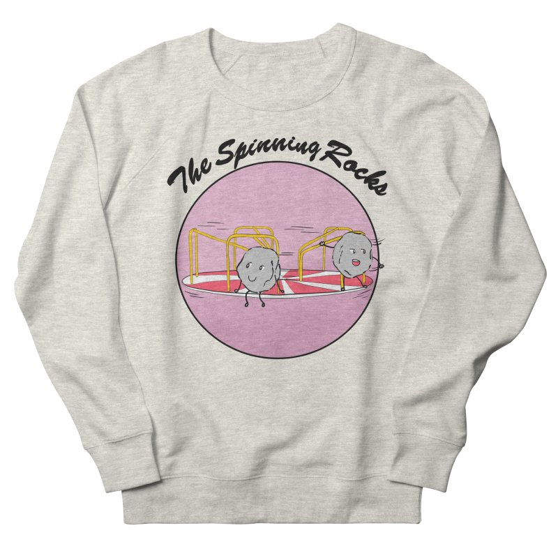 The Spinning Rocks Men's French Terry Sweatshirt by Hello Siyi