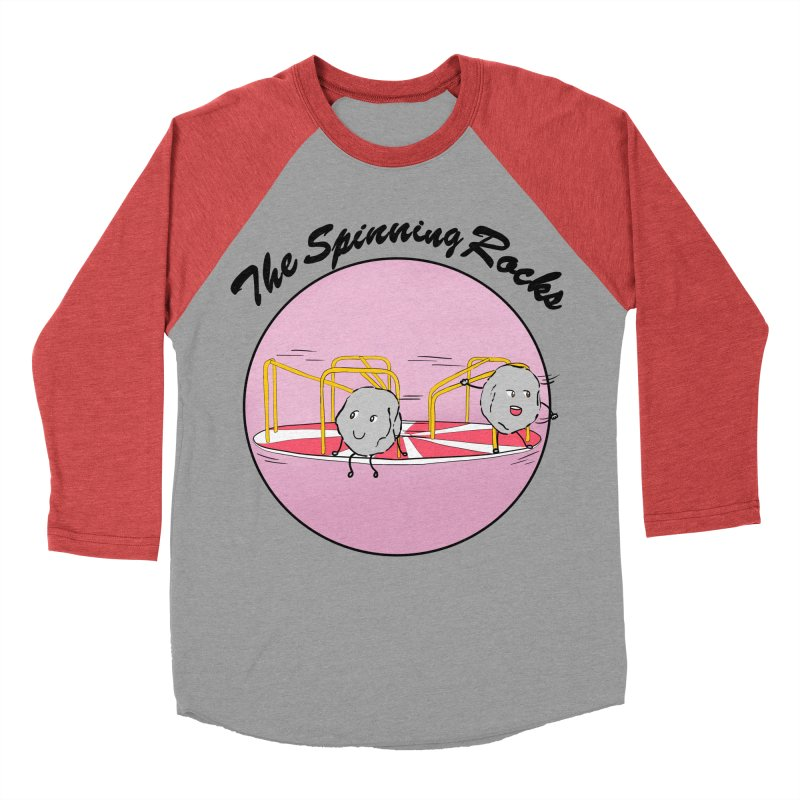 The Spinning Rocks Women's Baseball Triblend Longsleeve T-Shirt by Hello Siyi