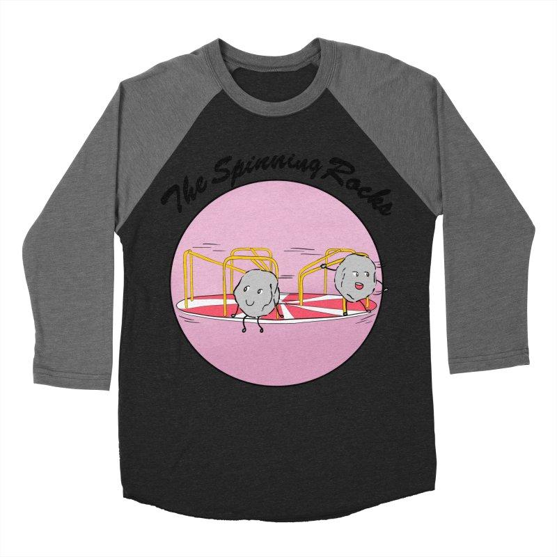 The Spinning Rocks Women's Baseball Triblend Longsleeve T-Shirt by Hello Siyi