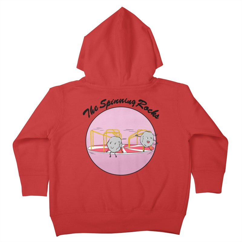 The Spinning Rocks Kids Toddler Zip-Up Hoody by Hello Siyi