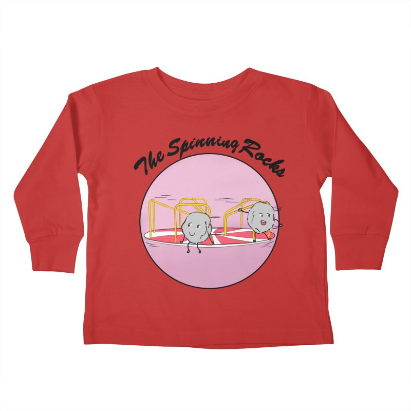 The Spinning Rocks Kids Toddler Longsleeve T-Shirt by Hello Siyi
