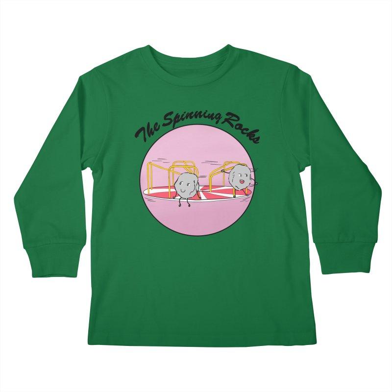 The Spinning Rocks Kids Longsleeve T-Shirt by Hello Siyi