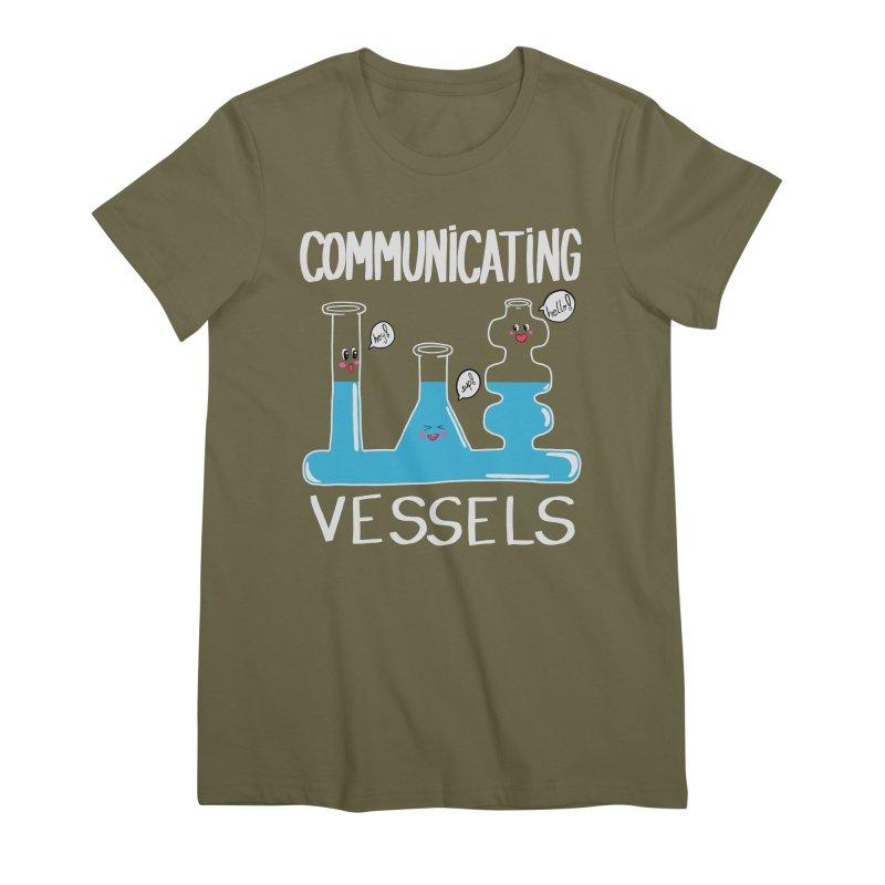 Communicating Vessels Women's Premium T-Shirt by Hello Siyi