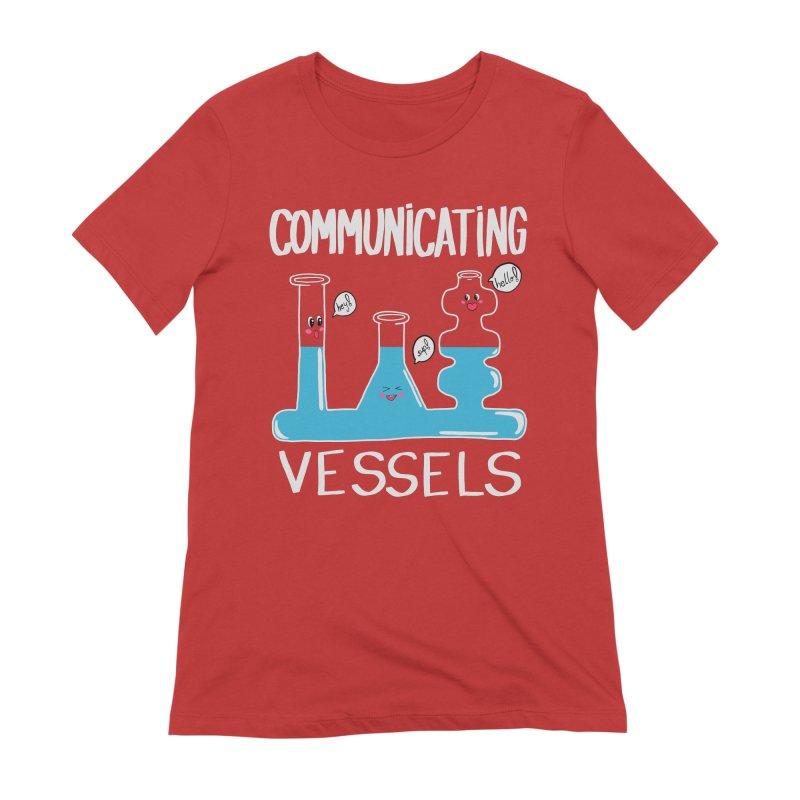 Communicating Vessels Women's Extra Soft T-Shirt by Hello Siyi