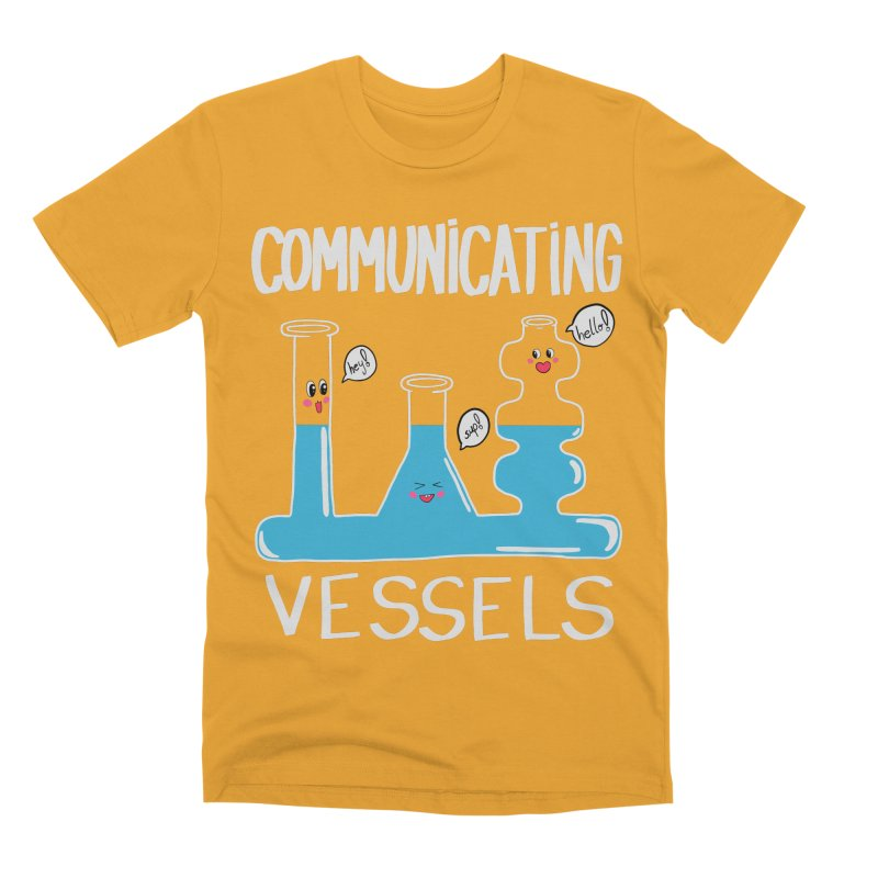 Communicating Vessels Men's Premium T-Shirt by Hello Siyi