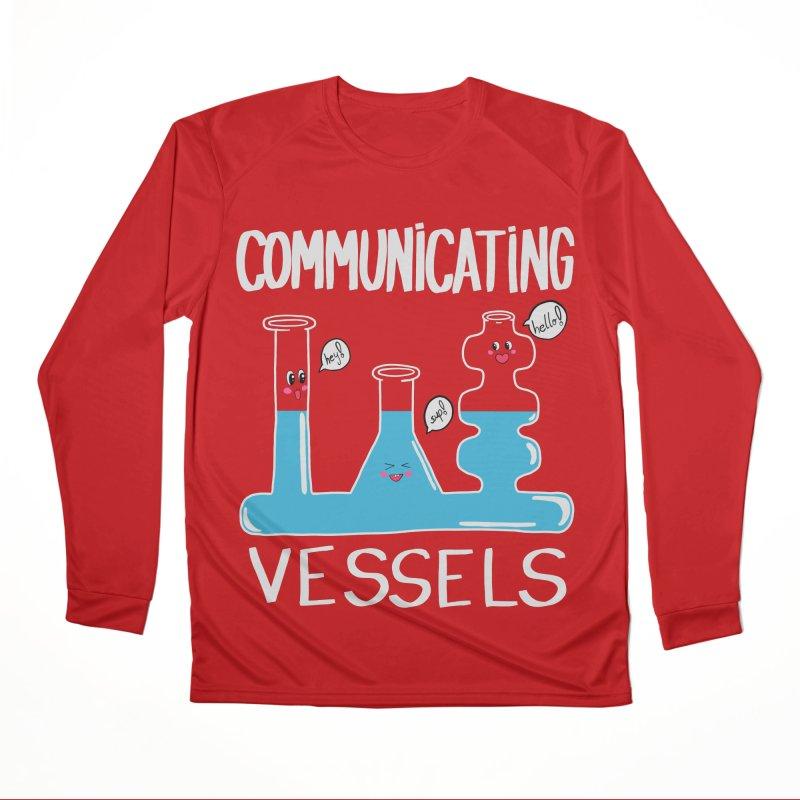 Communicating Vessels Women's Performance Unisex Longsleeve T-Shirt by Hello Siyi