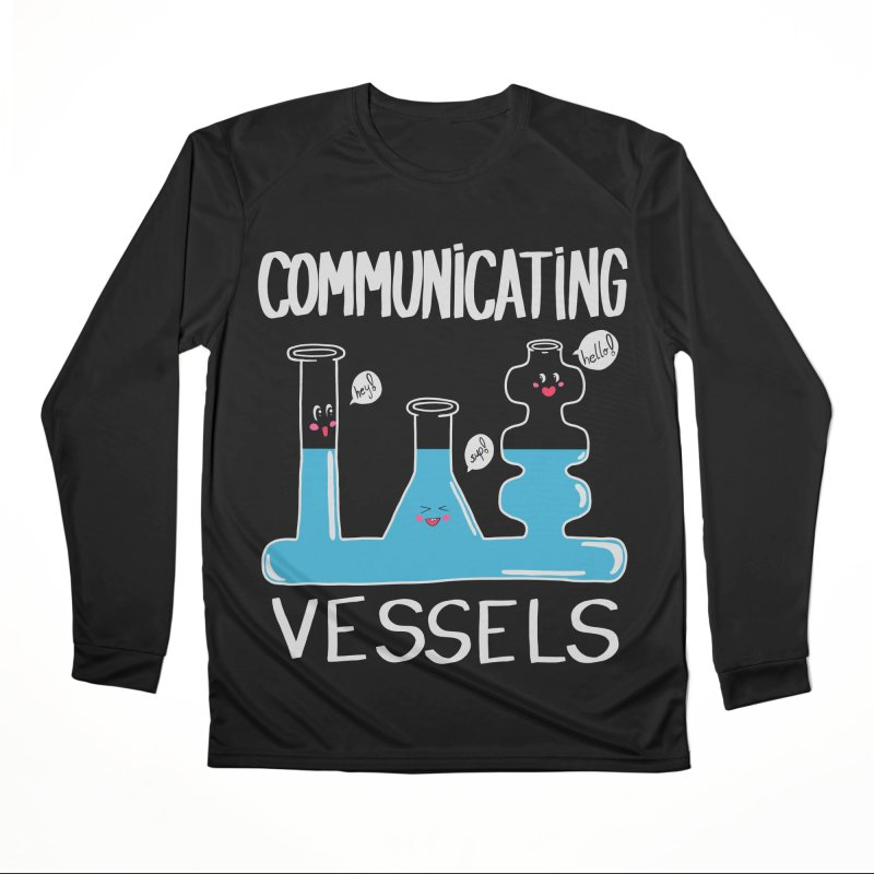 Communicating Vessels Men's Performance Longsleeve T-Shirt by Hello Siyi