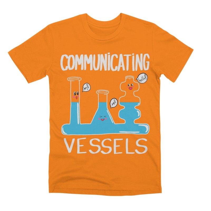Communicating Vessels Men's Premium T-Shirt by Hello Siyi