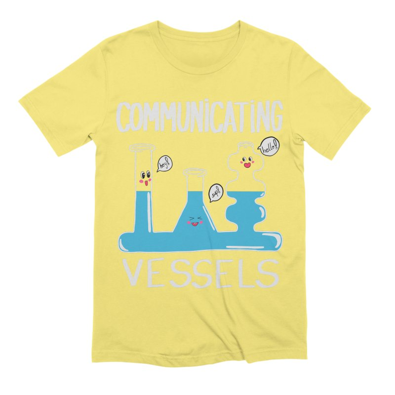 Communicating Vessels Men's Extra Soft T-Shirt by Hello Siyi