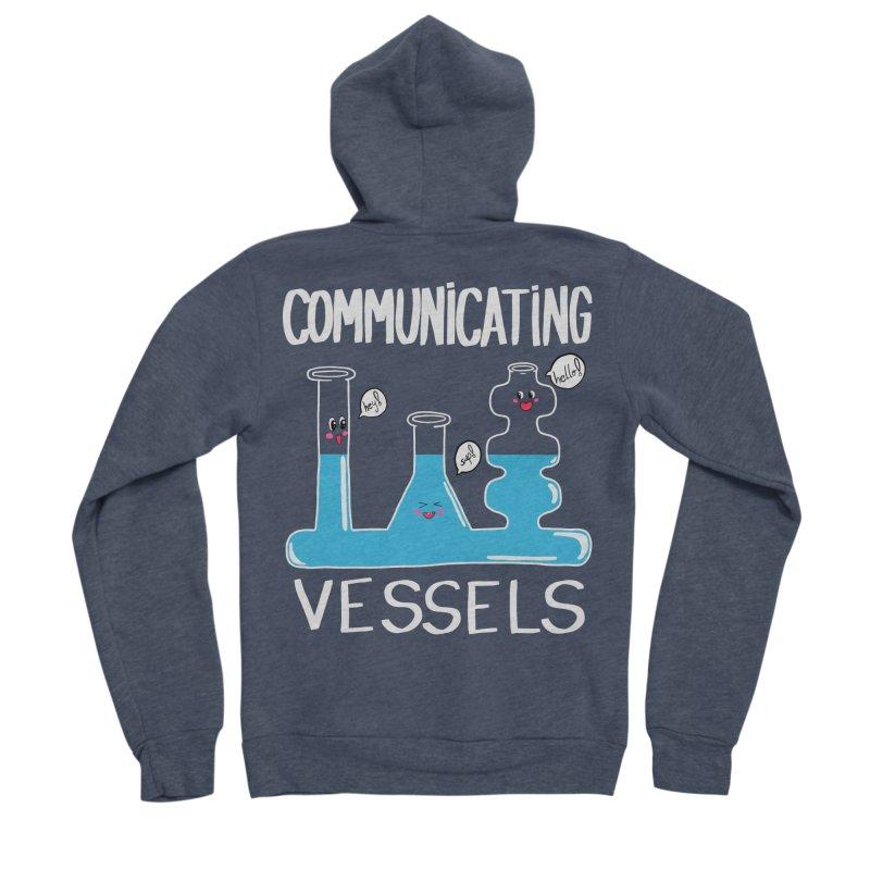 Communicating Vessels Women's Sponge Fleece Zip-Up Hoody by Hello Siyi