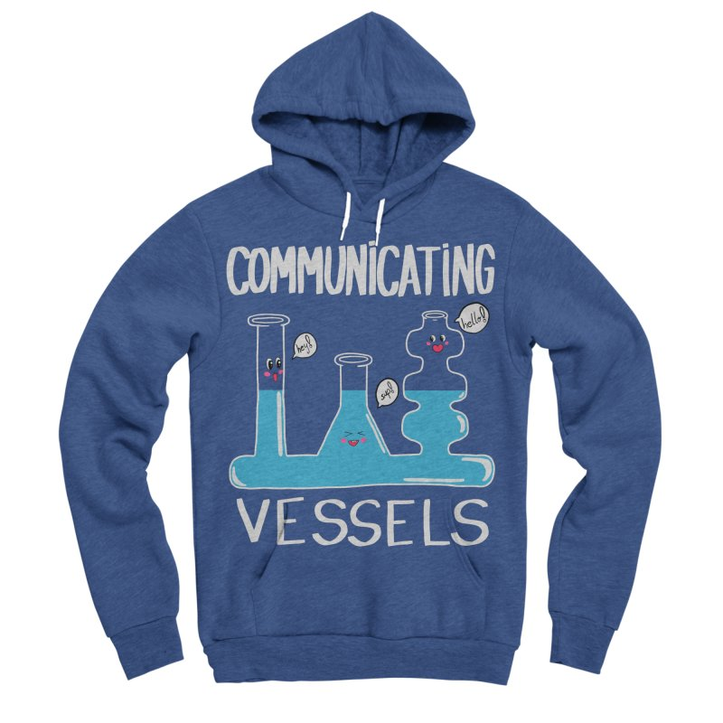 Communicating Vessels Men's Sponge Fleece Pullover Hoody by Hello Siyi