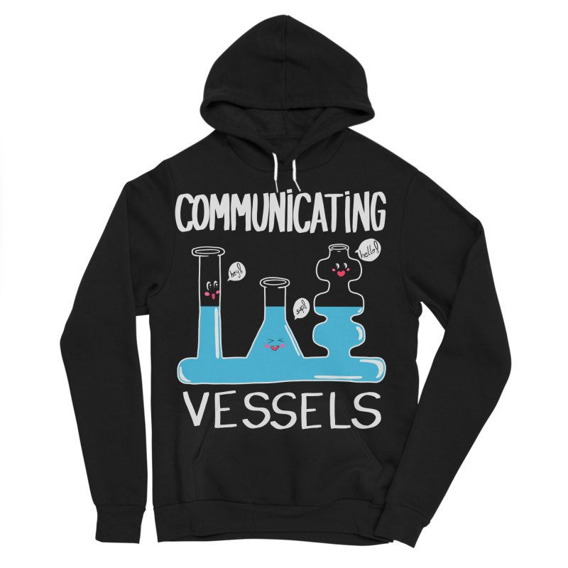 Communicating Vessels Women's Sponge Fleece Pullover Hoody by Hello Siyi