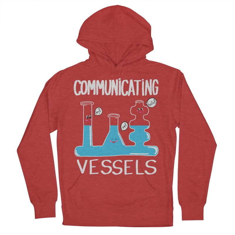 Communicating Vessels Women's French Terry Pullover Hoody by Hello Siyi