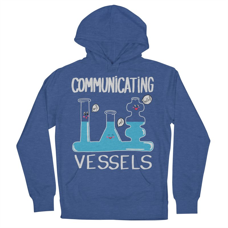 Communicating Vessels Men's French Terry Pullover Hoody by Hello Siyi