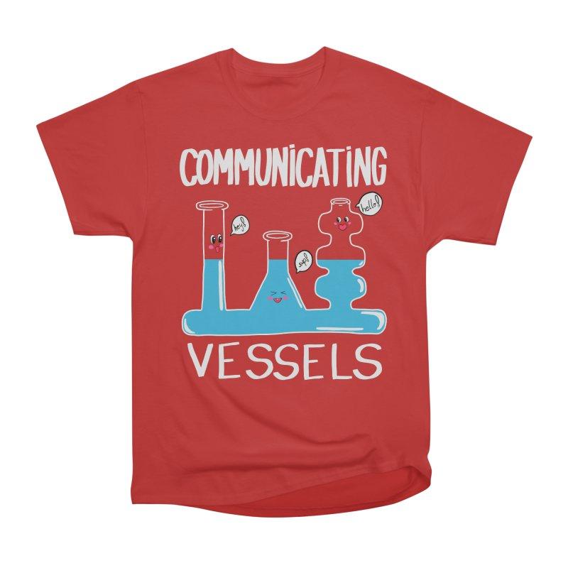 Communicating Vessels Women's Heavyweight Unisex T-Shirt by Hello Siyi