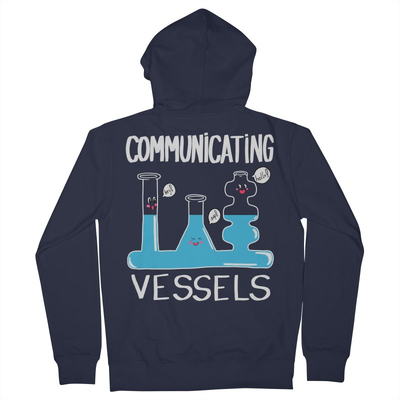 Communicating Vessels Women's French Terry Zip-Up Hoody by Hello Siyi